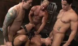 BDSM cum orgy