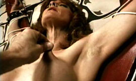 Full-grown gets bowels and pussy torture