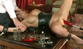 Sex slave bondage