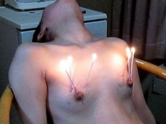 Sister loves torture for breast