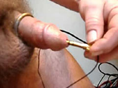 Urethra in electro pain