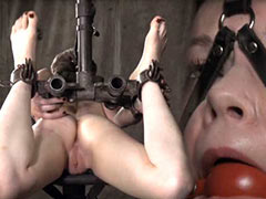Hazel Hypnotic in Infernal Restraints