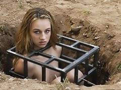 Buried slave girl