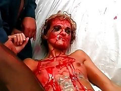 Bloody torture of slave