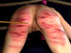 Bloody caning