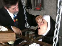 Catholic reviling torture