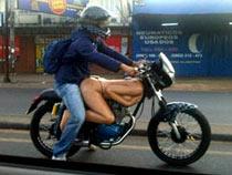 Sexy motorbike trip
