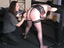 Needles in ass