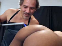 Electro torture of ass