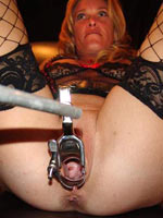 Electro torture with lightning rod