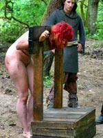Redhead witch tortured