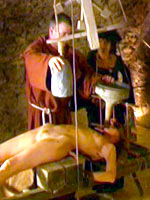 Medieval Inquisition water torture