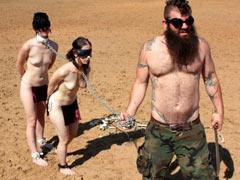 Captured slaves