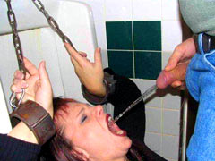 Toilet bitch use