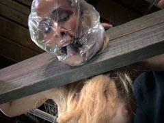 Cherie DeVille in breath control process