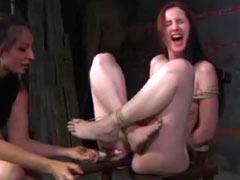 Foetus Kat in bondage session