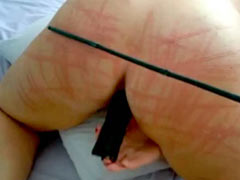 Caning of the buttocks