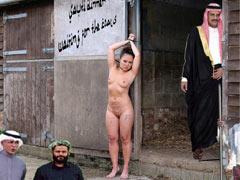 Arab sells a slave