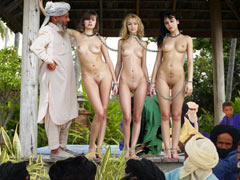 Arabic slaves Bazaar