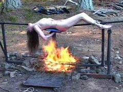 Fried human meat