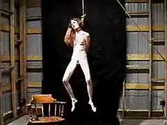 Hanged teen slave