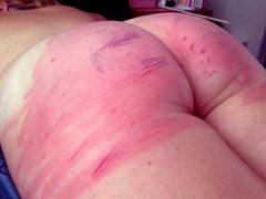 Incest spanking