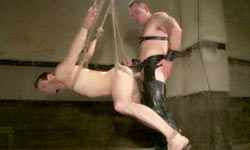 Gay whipped and fucked