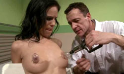 Tricky submissive gets training