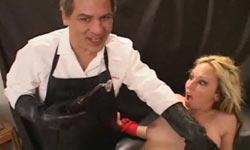 Dr Sparky torturing Zoe