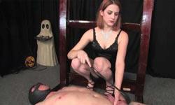 Cock spanking