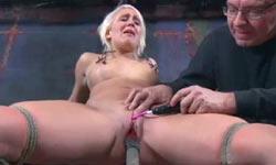 Blonde slave test