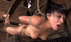 Asian girl gets bondage lesson