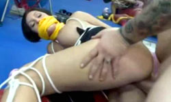 Milf fucked in gym