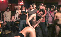 Public disgrace in the lesbian bar