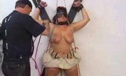 Mature woman tortured