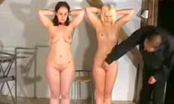 Slave girl friends training