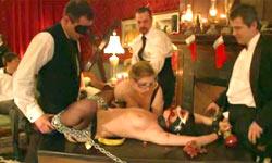 New Year BDSM orgy