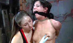 Training of brunette sub
