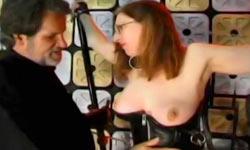 Mature whore BDSM video