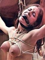 Receiving BDSM pain