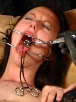Hot wax on a tongue