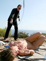 Shameless slut punished