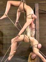 Double hanging bondage