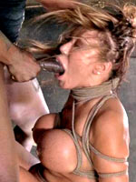 Bound and fucked anally