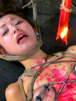 Japanese submissive girl tortured