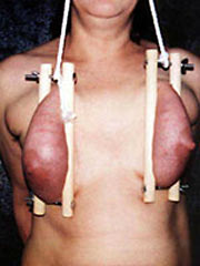 Torture of female breast