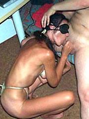 Homemade BDSM sessions