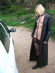 Disgraced blonde slave