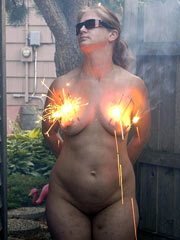 Burning of boobs