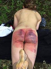 Extreme spanking